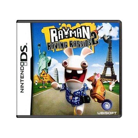 Jogo Rayman Raving Rabbids 2 - DS