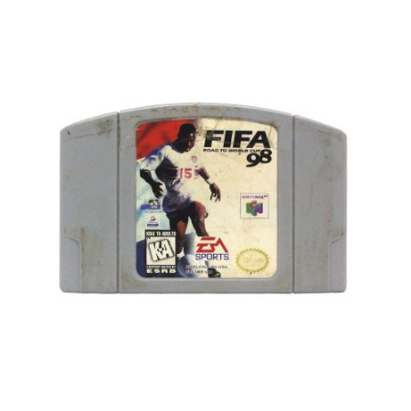 Jogo FIFA: Road to World Cup 98 - N64