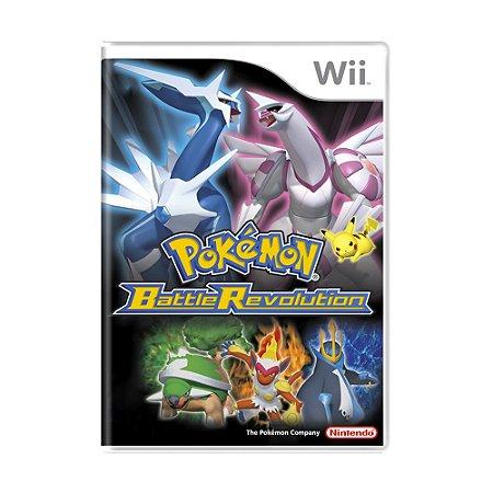 Jogo Pokémon Battle Revolution - Wii