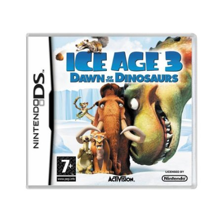 Jogo Ice Age: Dawn of the Dinosaurs - DS (Europeu)