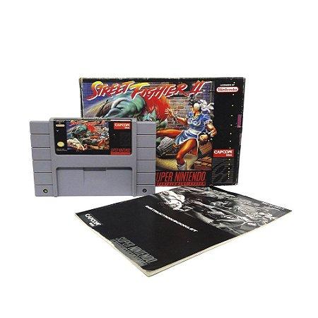 Jogo Street Fighter II - SNES