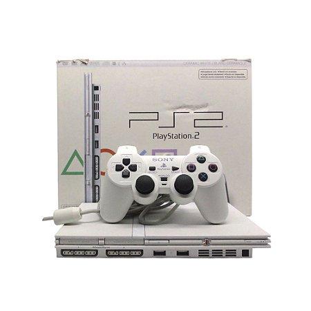 Console PlayStation 2 Slim Branco - Sony