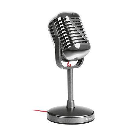 Microfone Trust Vintage Elvii T21670 com fio - PC