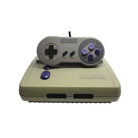 Console Super Nintendo Baby SNES - Nintendo (Mod AV)
