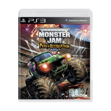 Jogo Monster Jam: Path of Destruction - PS3
