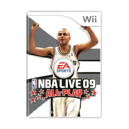 Jogo NBA Live 09 All-Play - Wii