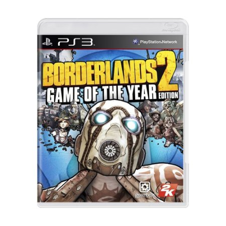 Jogo Borderlands 2 (Game of the Year Edition) - PS3