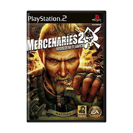 Jogo Mercenaries 2: World in Flames - PS2