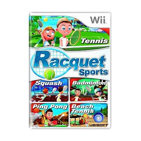 Jogo Racquet Sports - Wii
