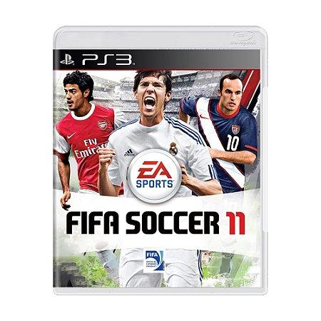 Jogo FIFA Soccer 11 - PS3
