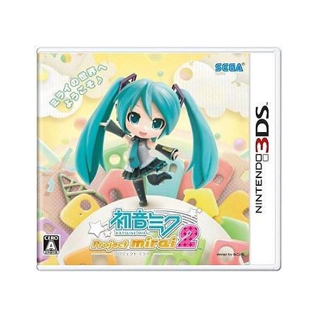 Jogo Hatsune Miku: Project Mirai DX - 3DS (Japonês)