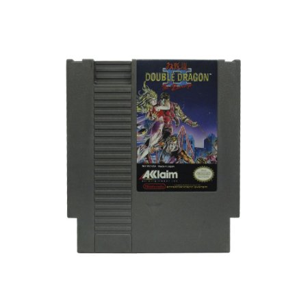Jogo Double Dragon II: The Revenge - NES