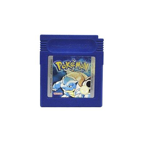 Jogo Pokemon Blue Version - GBC (Europeu)