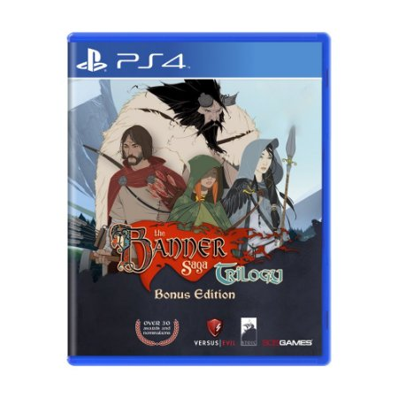 Jogo The Banner Saga Trilogy (Bônus Edition) - PS4