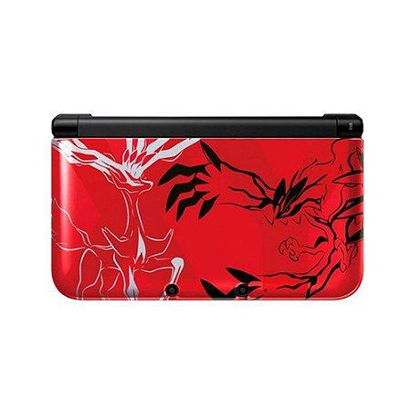 Console Nintendo 3DS XL (Pokémon X & Y Red Edition) - Nintendo