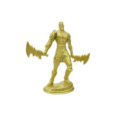 Boneco Kratos Dourado GOD OF WAR (Lâminas do Caos) - Top Cau