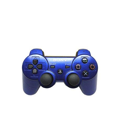 Controle Sony Dualshock 3 Azul - PS3