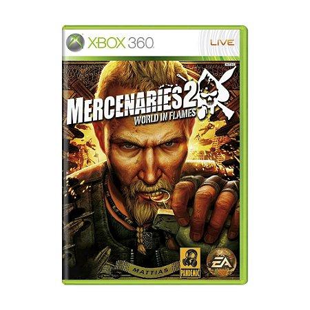 Jogo Mercenaries 2: World in Flames - Xbox 360