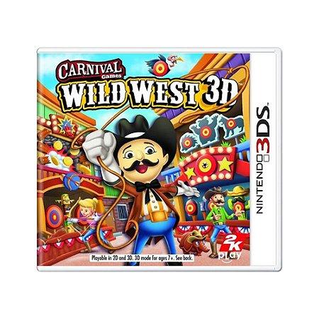 Jogo Carnival Games: Wild West 3D - 3DS