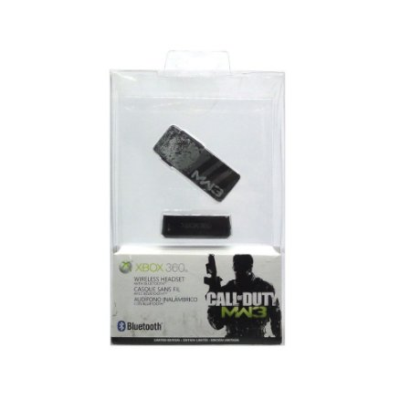 Headset Microsoft Call of Duty: Modern Warfare 3 sem fio - Xbox 360 (Lacrado)