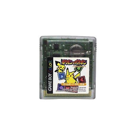 Jogo Pokemon de Panepon - GBC (Japonês)
