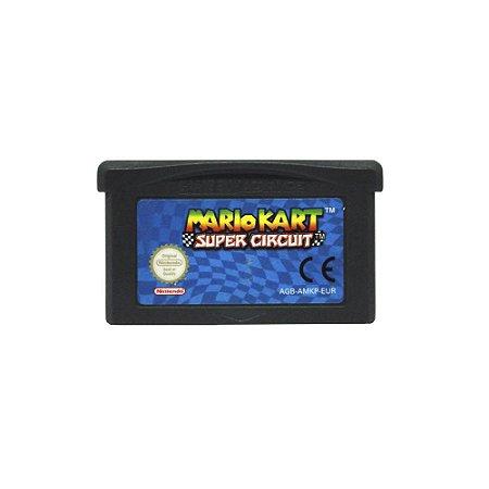 Jogo Mario Kart: Super Circuit - GBA (Europeu)
