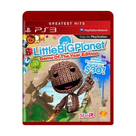 Jogo LittleBigPlanet (Game of the Year Edition) - PS3