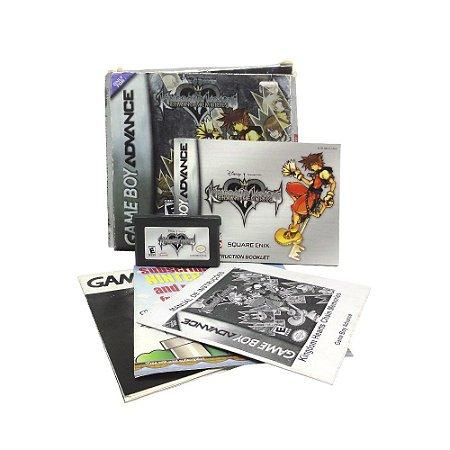 Jogo Kingdom Hearts: Chain of Memories - GBA