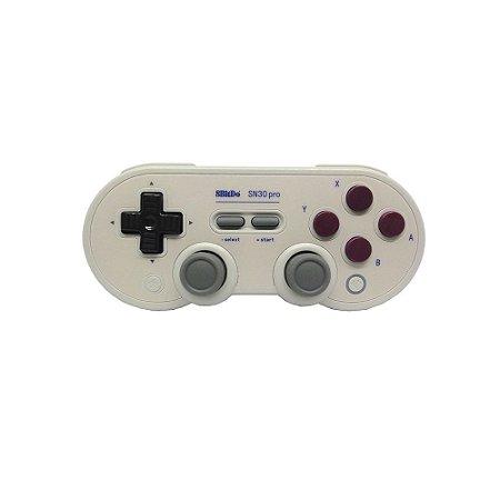 Controle 8BitDo SN30 ProBluetooth - Switch, PC e MAC