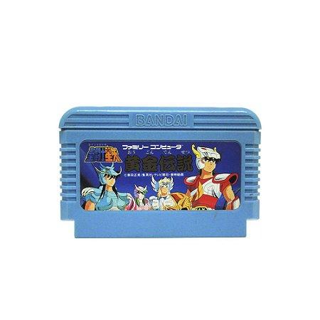 Jogo Saint Seiya: Ougon Densetsu - NES (Japonês)
