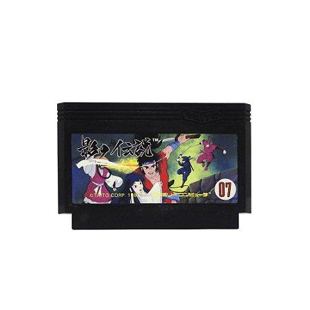 Jogo The Legend of Kage - NES (Japonês)