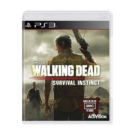 Jogo The Walking Dead Survival Instinct - PS3