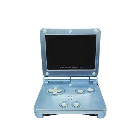 Console Game Boy Advance SP Azul Pérola - Nintendo