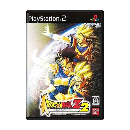 Jogo Dragon Ball Z: Budokai 2 - PS2 (Japonês)