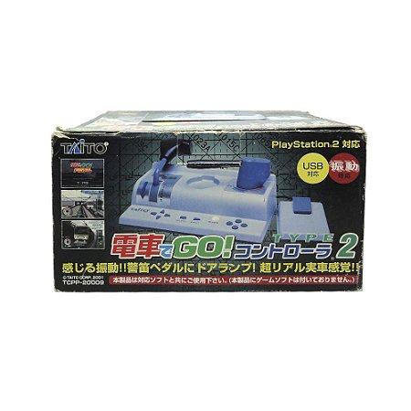 Controle Taito Densha de Go Type 2 - PS2