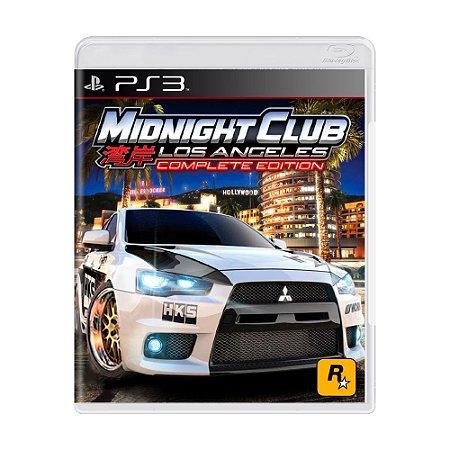 Jogo Midnight Club: Los Angeles (Complete Edition) - PS3