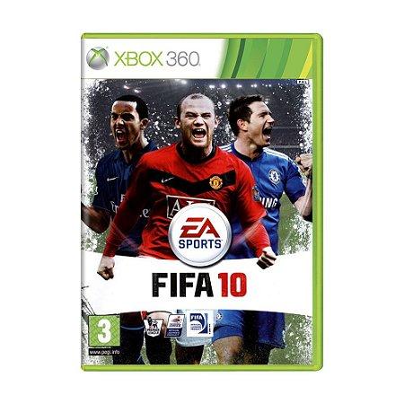 Jogo FIFA 10 - Xbox 360 (Europeu)