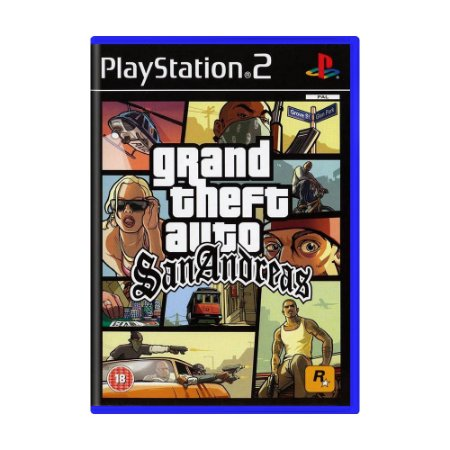Jogo Grand Theft Auto: San Andreas - PS2 (Europeu)