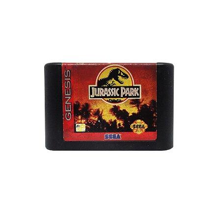 Jogo Jurassic Park - Mega Drive