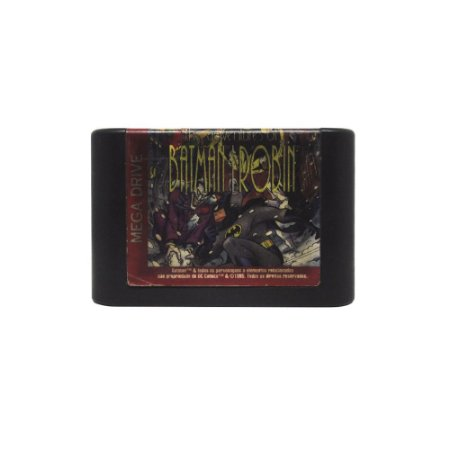 Jogo The Adventures of Batman and Robin - Mega Drive