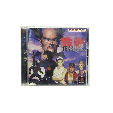 Jogo Tekken 2 - PS1 (Japonês)