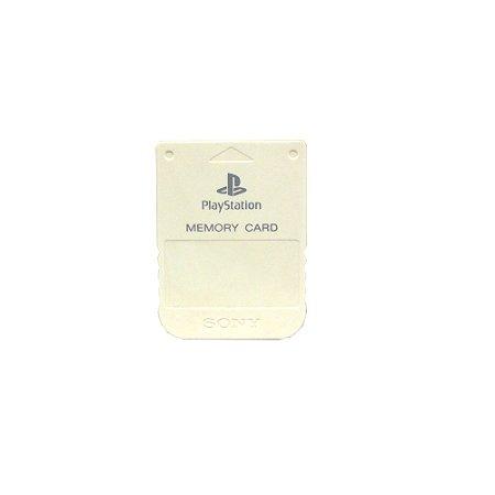 Memory Card Sony Branco - PS1