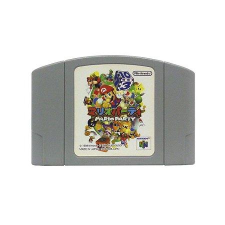 Jogo Mario Party - N64 (Japonês)