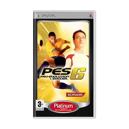 Jogo Pro Evolution Soccer 6 - PSP