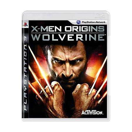 Jogo X-Men Origins: Wolverine - PS3