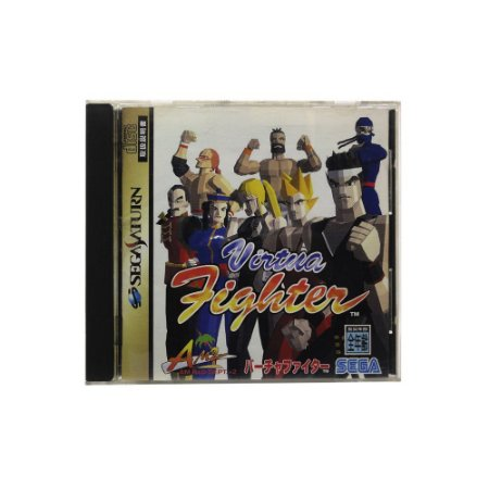 Jogo Virtua Fighter - Sega Saturn (Japonês)
