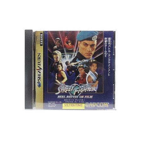 Jogo Street Fighter: The Movie - Sega Saturn (Japonês)