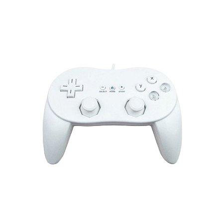 Controle Classic Pro Paralelo Branco com fio - Wii