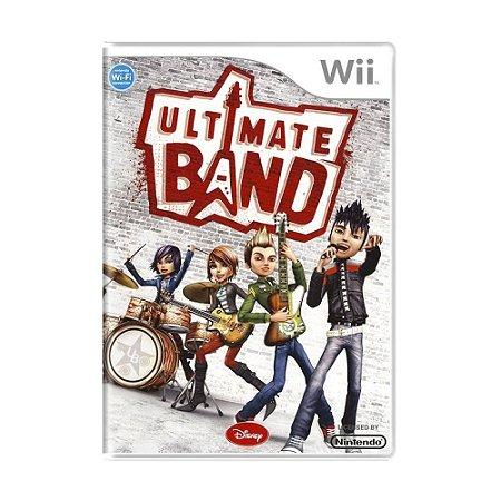 Jogo Ultimate Band - Wii