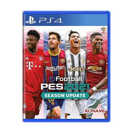 Jogo eFootball Pro Evolution Soccer 2021 Season Update - PS4